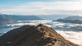 Volcano, Nature, Green, Sky, Mountains