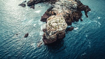 RockWorld imagery, The big picture, rock, water, sea