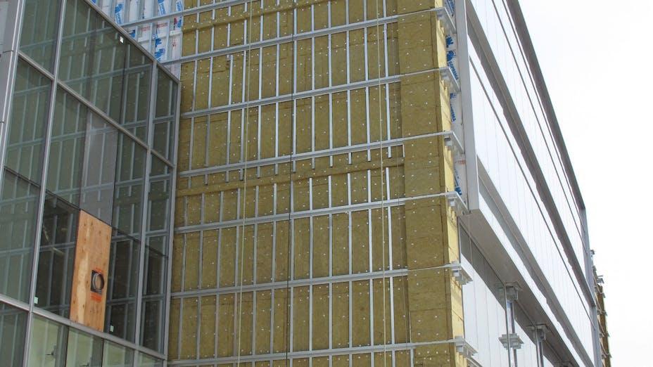 Nova Case Study 1, construction, office building, exterior, insulation, project