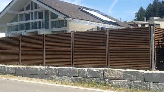 fences, wood, noistop wood, house, wall, lapinus