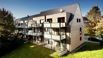 reference, wall, wall insulation, etics, house, home, multi-family house, multi-family home, multi family house, germany, job 3248
