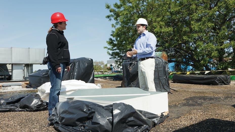 Ridgewood case study roofing