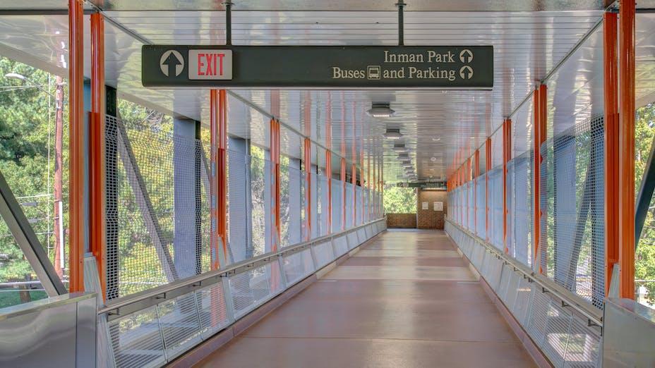 NA, MARTA Inman Park/ Reynoldstown Station, MARTA Architects, Planar Macroplus, Planostile Snap-In, Infinity, Renovation