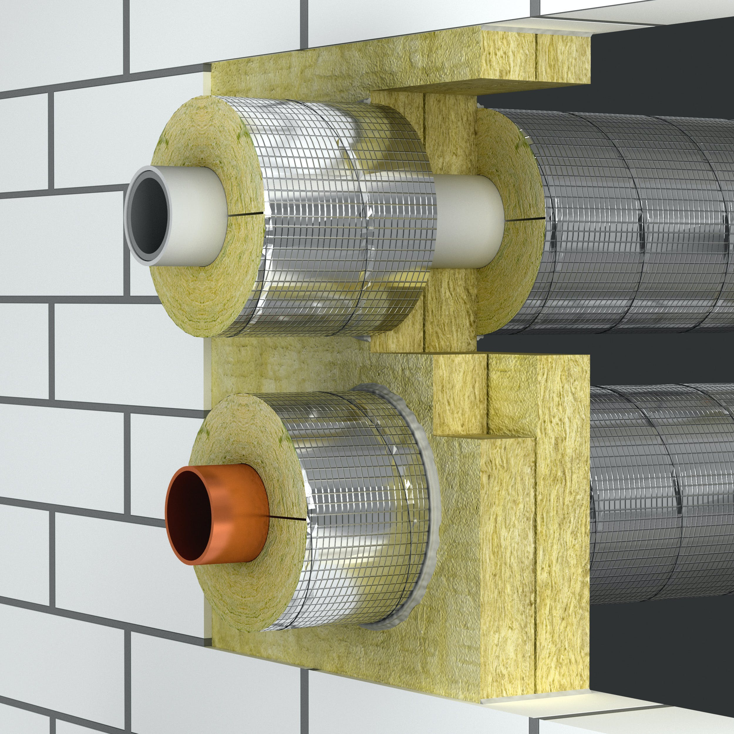 fire penetration of pipes