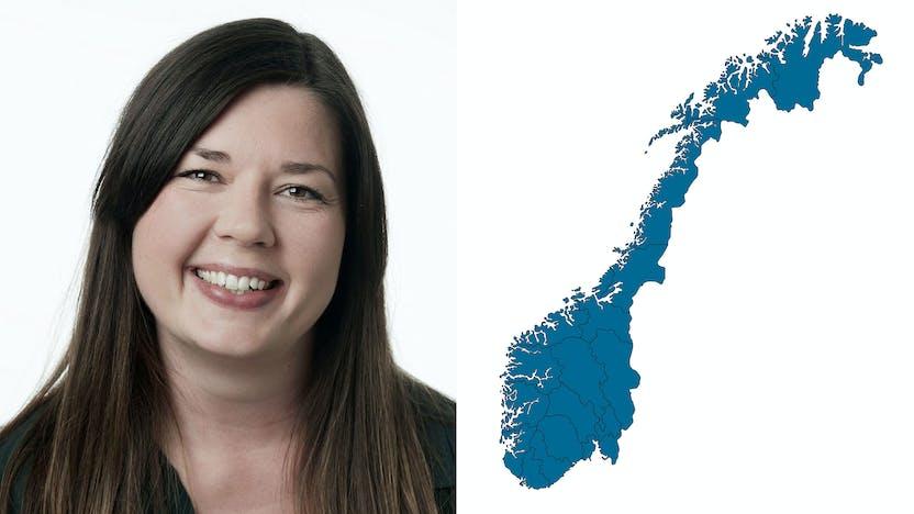 contact person, marketing, profile and map, mia bjork, Annette Kjelstad, NO