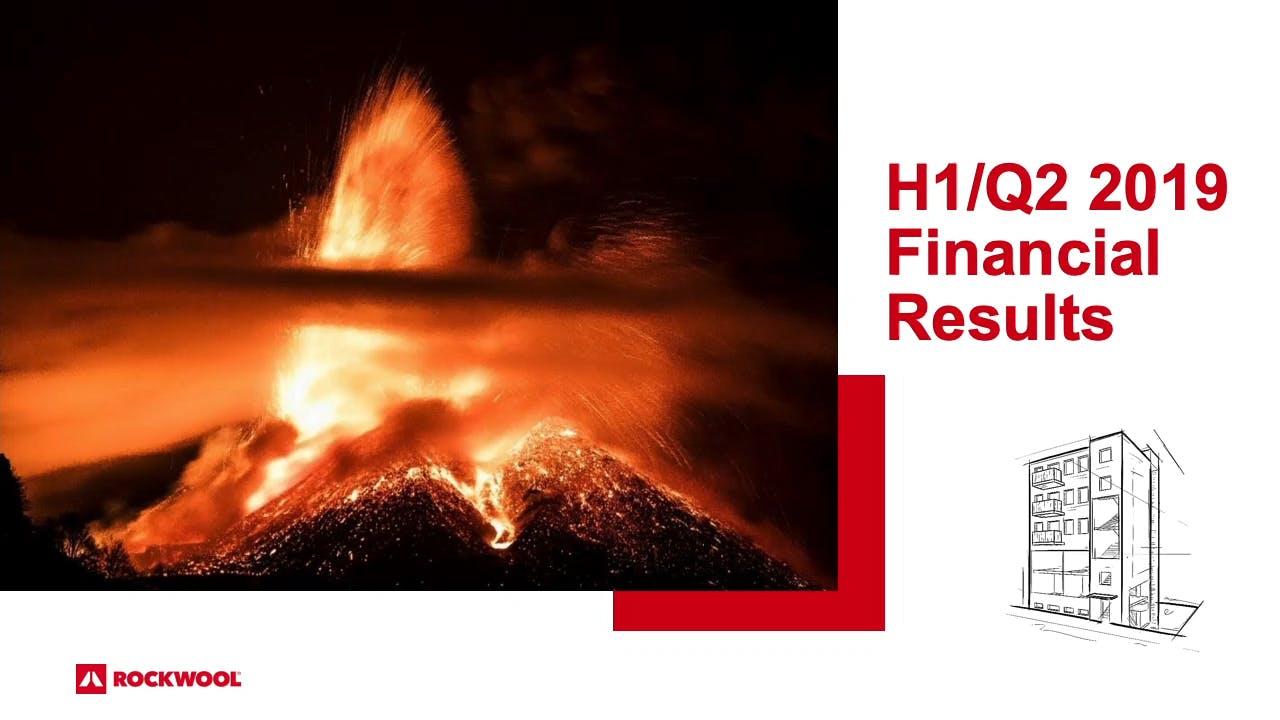 Thumbnail Financial Report presentation Q2 2019