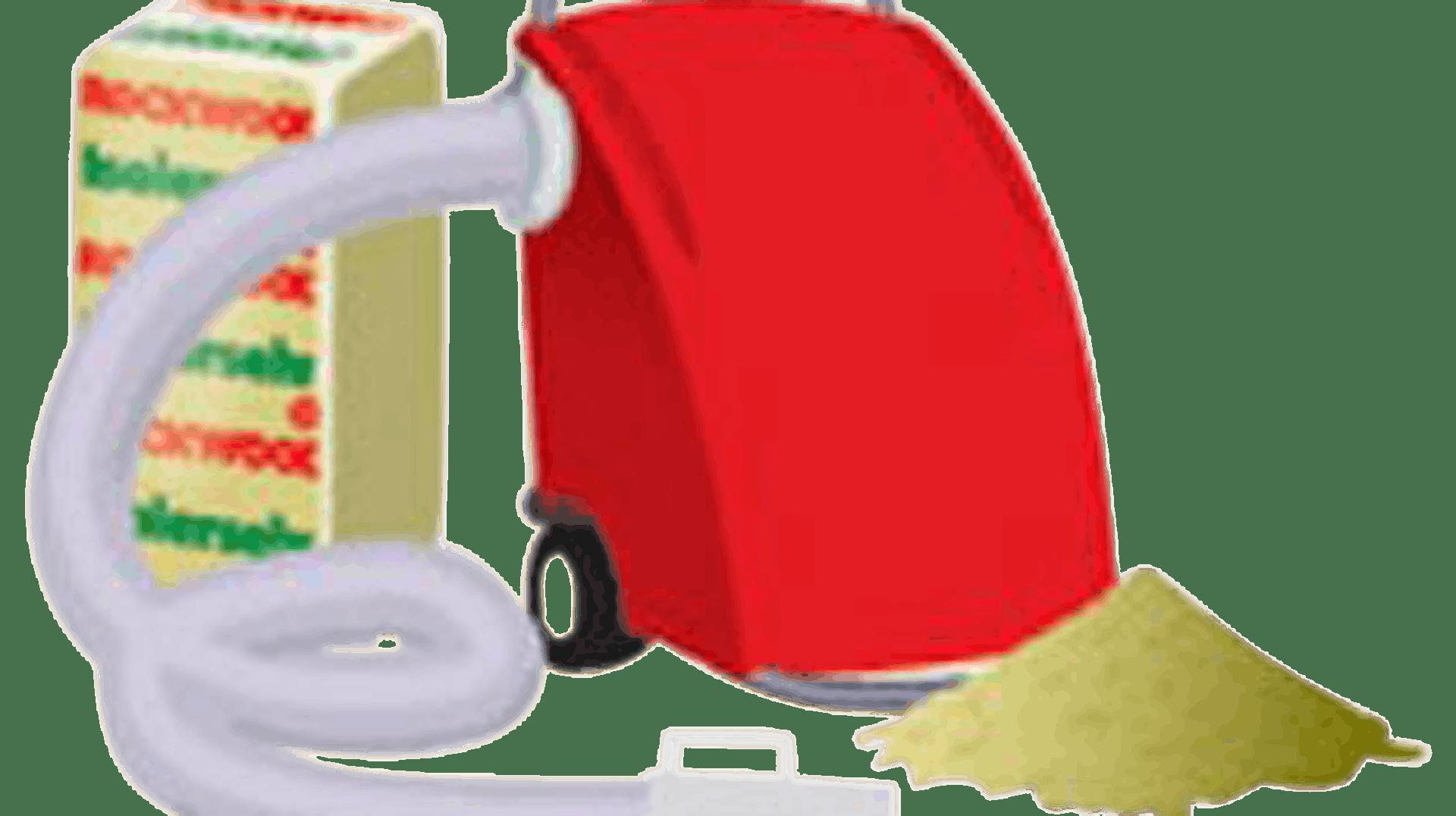 Product picture, ROCKSTER Løsullmaskin, ROXULL Vindsullsspruta
