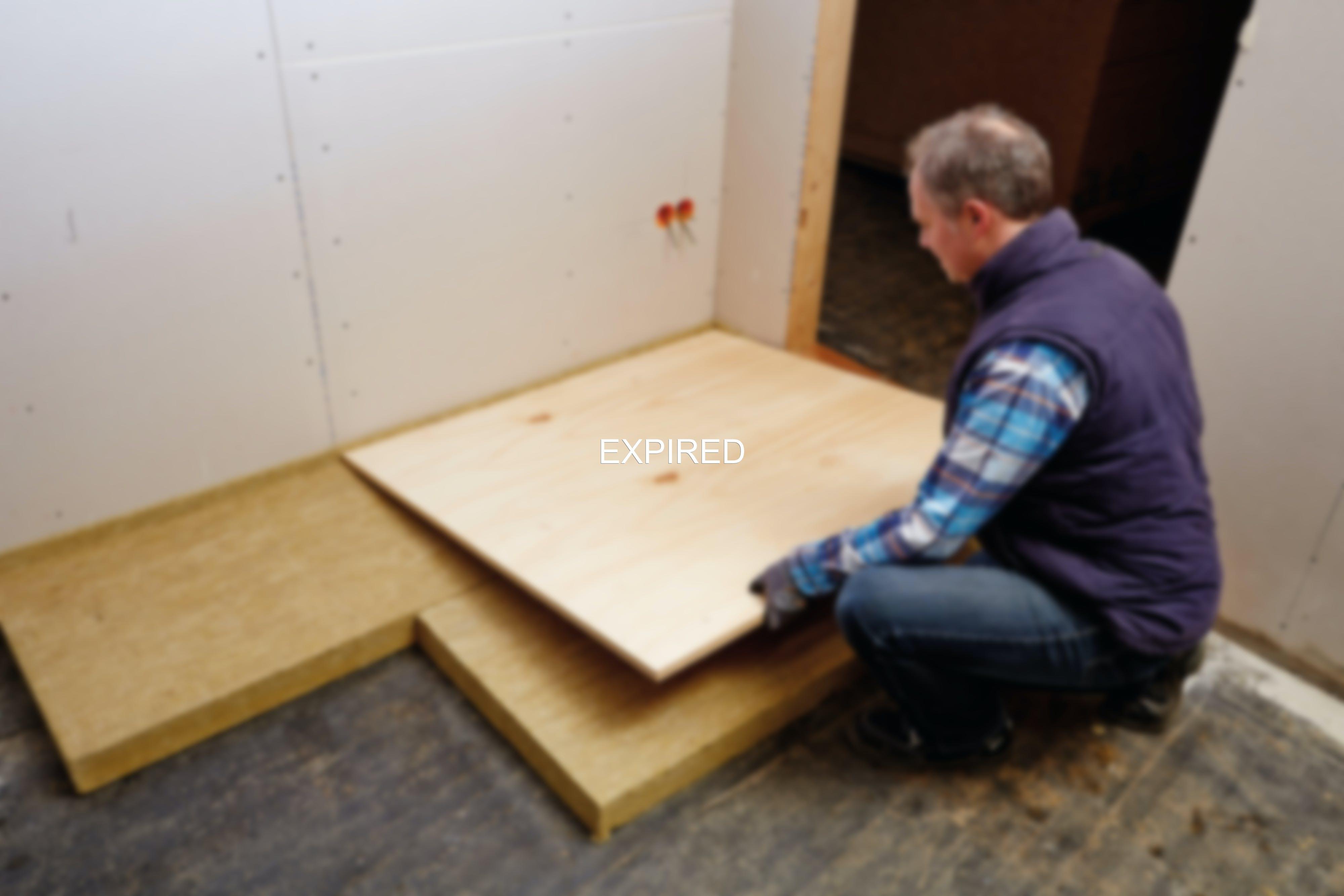 product, floor, impact sound, footfall sound insulation, floorrock te, germany, job 4528