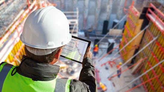 Construction, Building, Planning, Engineer, Tablet, Worker