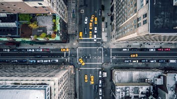 RockWorld imagery, The big picture, cross section, city, urban, street