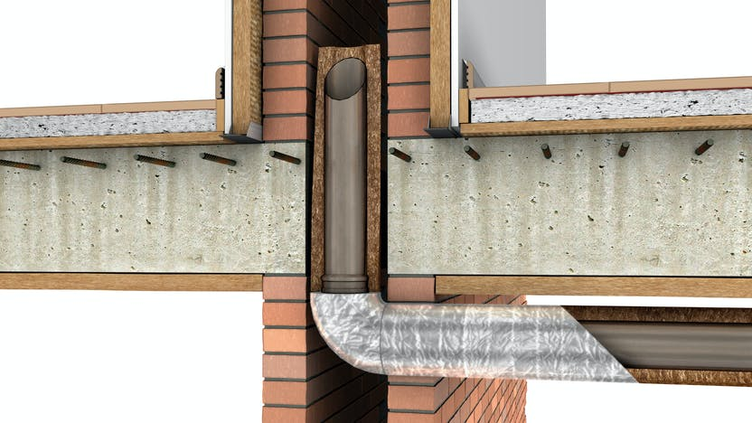 Installations, 01_Instalaciones_Agua y calefacción - Tuberías_Sistema Teclit Water and heating - Pipes_Teclit System