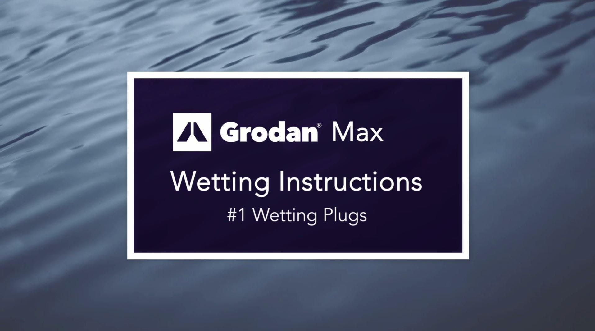 Thumbnail wetting instructions #1