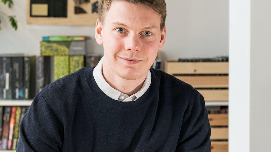 profile picture, person, Robert Cedstram, rockfon, sweden, SE