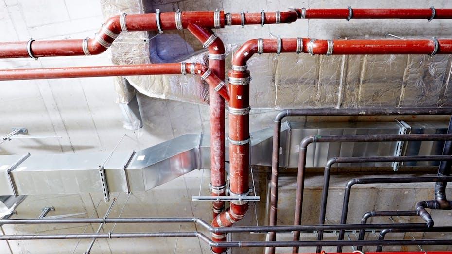 waste water pipe, pipes, hvac, rockwool 800, klimarock, rockwool alufix, germany