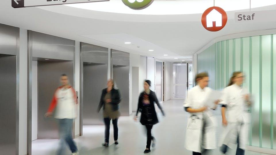 Acoustic ceiling solution: Rockfon® Mono® Acoustic, 1200 x 1200