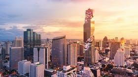 MahaNakhon,, City, Skyline, Sunset, Reference Project