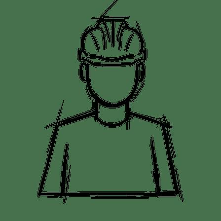 Employees, factory worker, man