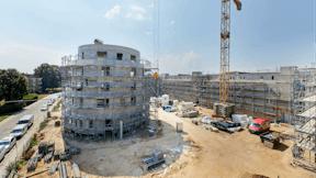 facade insulation, facade, ETICS, coverrock II, new building, fassadendämmung, fassade, WDVS, neubau, presse, germany, presse, press