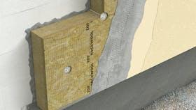 ETICS, external walls, dual density slab