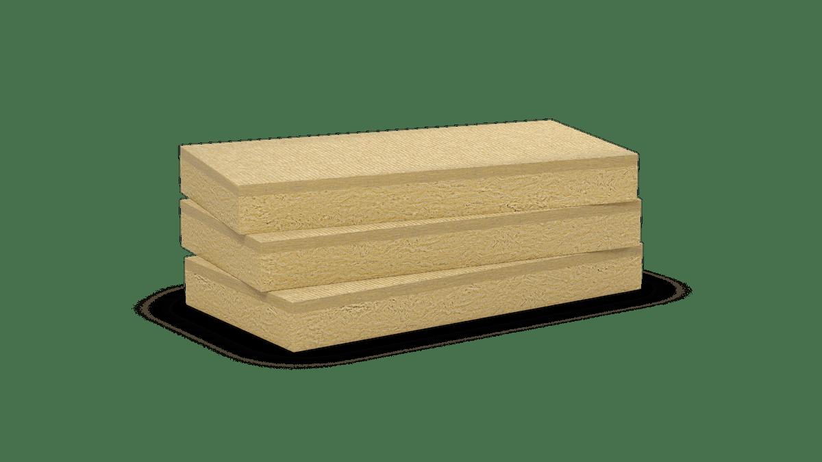 Double density stone wool slabs. ROCKCIEL -E- 444, Durock Energy Plus, Hardrock Energy Plus  Products: Rockciel-E-444, Durock 386, Durock Energy, Hardrock 391