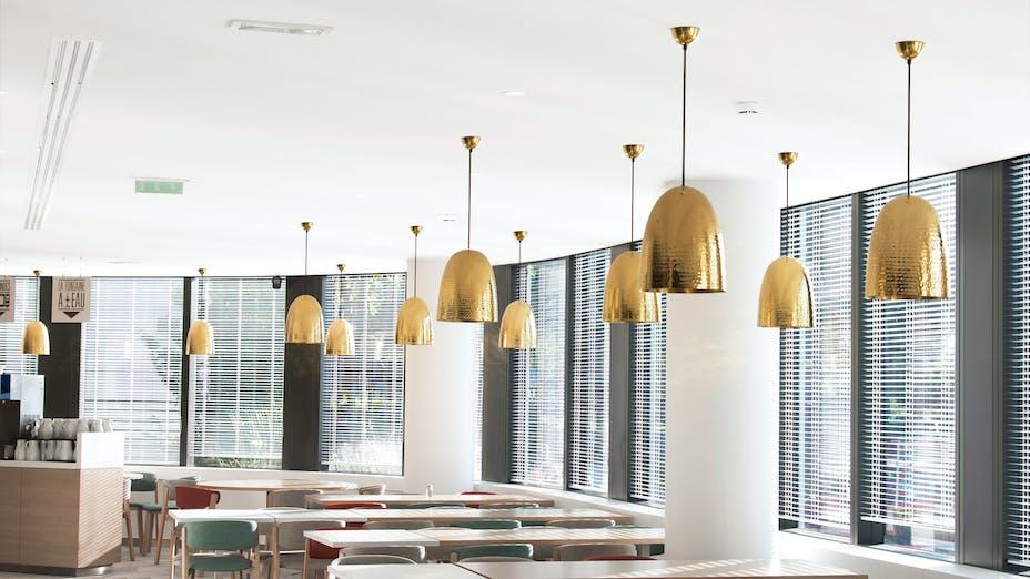 FR, Headquarters L'Oréal Paris, 92300 Levallois-Perret (Paris), Office, Rockfon Mono Acoustic, TE edge, White, Canteen
