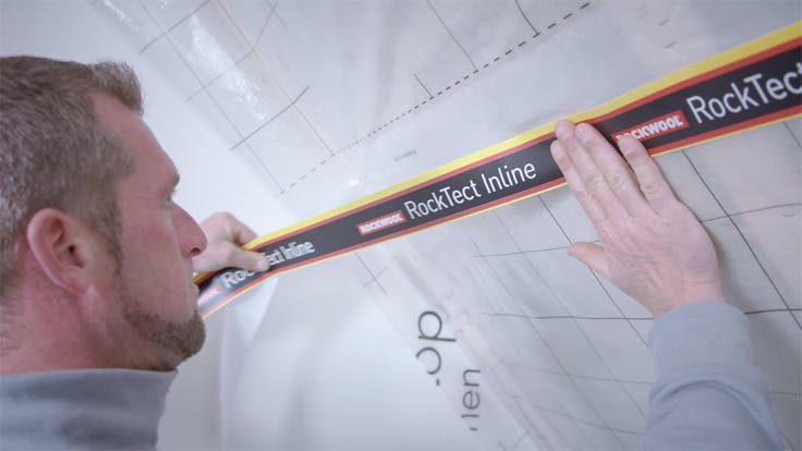 thumb, thumbnail, video, installation, installation guide, guide, roof, pitched roof, airtightness, luftdichtsystem, rocktect, germany