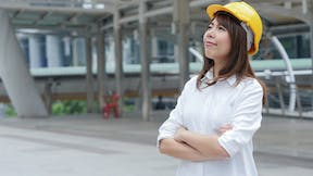 Woman. Worker. Construction