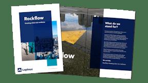 Brochure illustration Rockflow, water management