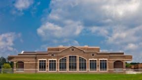 Bradley Central High School Fine Arts Center, KBJM Architects, TRI-CON Education, Pepple Photography, Exterior