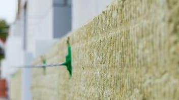 product, installation, cavity wall, cavity wall insulation, cavity wall insulation board, kernrock, kernrock 033, kernrock 035, kerndämmung, kerndämmplatte,   zweischaliges mauerwerk, brochure, broschüre, dämmung von außenwänden, germany