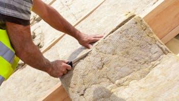 attic insulation, thickness, rockwool