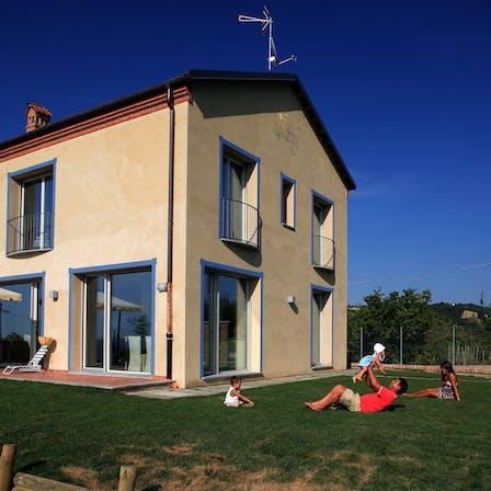 Cherasco Passive House, Circularity