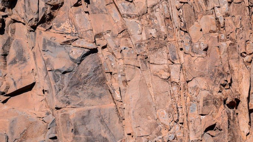 Rock, Stone, Wall, Nature