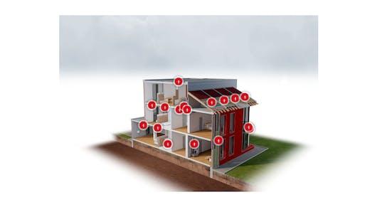 Multi unit house visualization tool