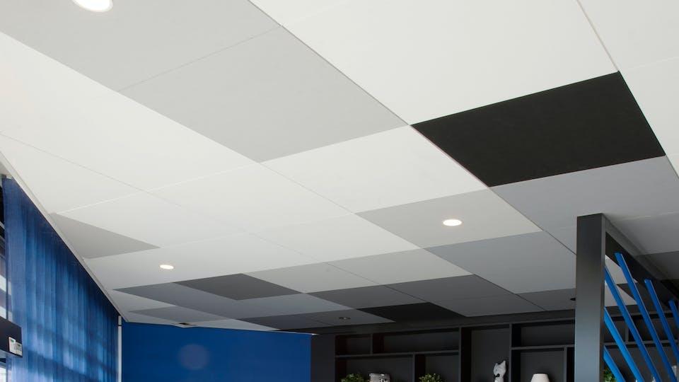 Akustikloft: Rockfon Color-all®, X, 600 x 600