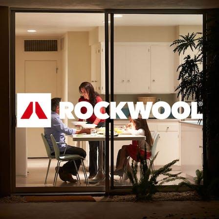 ROCKWOOL logo and image