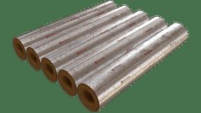Cyllinders, wound pipe 100 alu, iti insulation