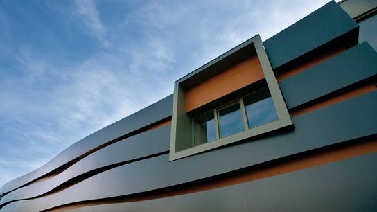 Headquarters of Rockpanel Roermond (The Netherlands), cladded with Rockpanel Metallics, Rockpanel Woods and Rockpanel Ply