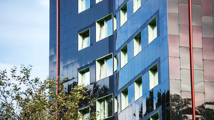 Reference case, Sweden, Stäcken, Göteborg, Stjärnhus, Rockpanel, REDAir FLEX, passive house, facade