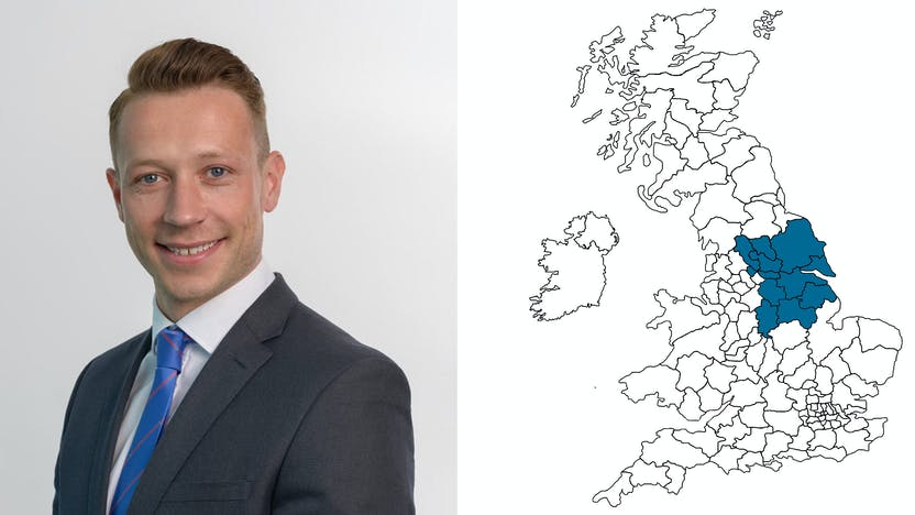 contact person, sales, profile and map, Chris Carr, UK