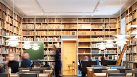 DK, Viborg, Viborg Katedralskole, Education, Library, Rockfon Mono Acoustic, TE-edge, white