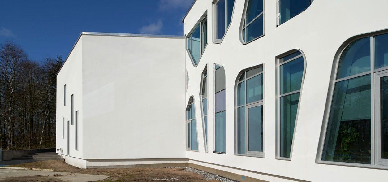 Reference case, Denmark, Odense, KOMPAN A/S, office, FACADELAMEL ENERGY