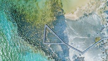 Campaign image, Rockfon Color-all, Beach