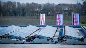 solar panels, flat roof, FRI, soons