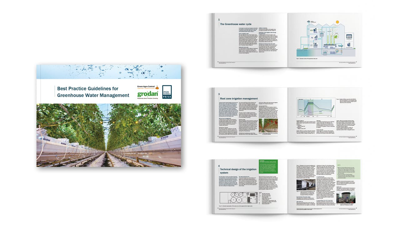visual, best practice guidelines, greenhouse water management