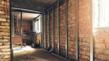 rockwool,  insultation material, old house renovation, insulation installation