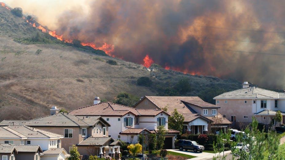 WUI California Fire