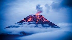 photos, germany, schrägdach broschüre, volcano, vulkan, steam, clouds