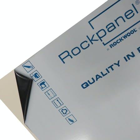Foil on Rockpanel boards