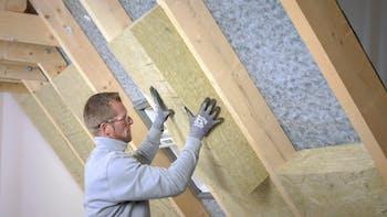 Verarbeitungsschritte, Step 12, installation, installation guide, guide, roof, pitched roof, dachausbau, gesamt, zwischensparrendämmung, luftdichtsystem, untersparrendämmung, klemmrock, germany
